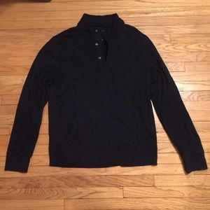 J Crew navy pullover sweater - Large